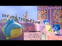 DIY Joy Tsum Tsum (Collab with Tiny Sparkles) ╏ Huggy Bunnies