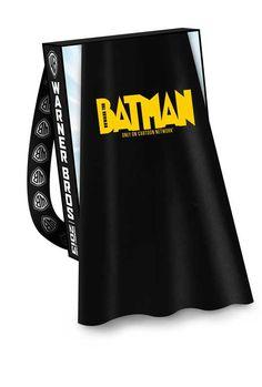 Warner Bro's SDCC Bags with Capes: Beware The Batman Cape (with Teen Titans Go! Bag)