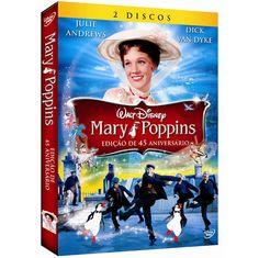 DVD Mary Poppins - Ed. de 45° Aniversário