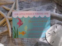 fish party invite
