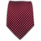 Pindot - Crimson (Skinny) from TheTieBar.com - Wear Your Good Tie Everyday