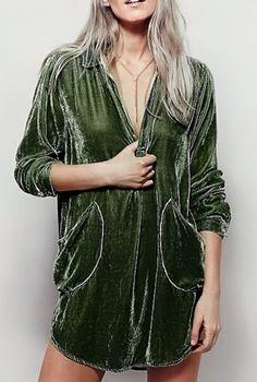this velvet dress is everything