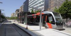 El tranvía de Zaragoza inaugura este jueves su parada en la Plaza del Pilar