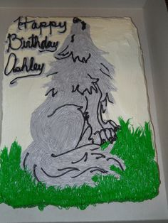 Wolf Cake by ~MysteriousFoxThief on deviantART