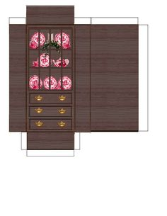 "Paper Crafts – Interior Model – Dining Room 2 This completes the Interior Models 2 Set – if you have missed any of the rooms, look on the menu to your right, click on ""Paper Crafts&#822…"