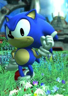 Classic Sonic. (Sonic Generations)