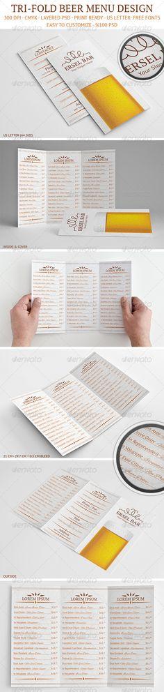 Illustrated Cafe Menu Set Pinterest Cafe menu, Menu illustration