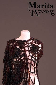 Marita Wrong Exhibition - Unique Handmade Crochet Creations Handmade  Dresses fcb44c4bae