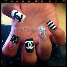 chanel nails --- chanails! :)