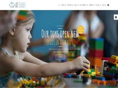 AT Baby Shop Joomla! template by Age Themes on @creativemarket