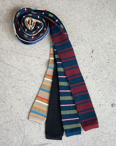 Mark McNairy New Amsterdam Knit Ties