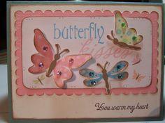 Cricut Projects and Ideas | Bug Junkie: Cricut Imagine - Butterfly Kisses