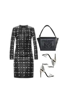 """""""Astryr #4216"""" by canlui ❤ liked on Polyvore Moschino, Fendi, Polyvore, Fashion, Moda, Fashion Styles, Fashion Illustrations"""