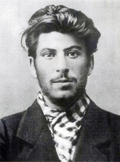 A young Iosif Vissarionovich Dzhugashvili aka Joseph Stalin.      Did you know he was one of the greatest bank robbers of all time?  He carried out one of the 20th centuries greatest bank robberies--the Tiflis bank robbery.    He also made Hitler look like an amateur when it came to mass killings/deaths.  If you combine all the WW2 deaths I believe you get a number less that 20 million.  Stalin was responsible for no less than 30 million deaths during his reign of terror!