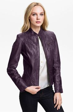 Bod & Christensen Leather Moto Jacket (Online Exclusive) available at #Nordstrom - I really think I need this...