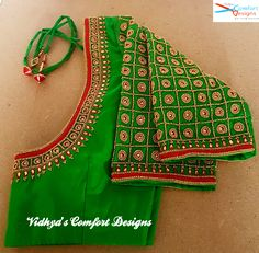 Bridal Blouse Designs done at Vidhya's Comfort Designs, Besant Nagar, Chennai Co. - Bridal Blouse Designs done at Vidhya's Comfort Designs, Besant Nagar, Chennai Contact – 9003020 - Cutwork Blouse Designs, Wedding Saree Blouse Designs, Simple Blouse Designs, Stylish Blouse Design, Chennai, Mirror Work Blouse Design, Maggam Work Designs, Designer Blouse Patterns, Embroidered Blouse