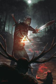 The Witcher Wild Hunt, The Witcher Game, The Witcher Geralt, The Witcher Books, Witcher Art, Ciri, Fantasy Male, High Fantasy, Medieval Fantasy