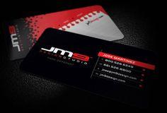 JM9 Design Studio Business Card