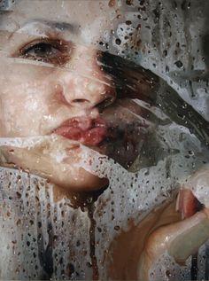Realistic Oil Painting by Alyssa Monks Photographie Street Art, Hyper Realistic Paintings, Realism Art, Art Graphique, Saatchi Online, Art Plastique, Beautiful Paintings, Figurative Art, Contemporary Artists
