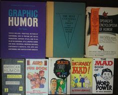Specialty Collection: Lot of 8 Humor Comedian Comics Speakers Books