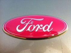 "2004-11 Ford Trucks, 9"" Tailgate Emblem""CUSTOM"",""PINK""Breast Cancer,Edge/Ranger | eBay Motors, Parts & Accessories, Car & Truck Parts | eBay!"