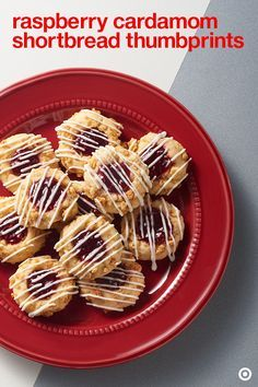 You won't see these tasty treats anywhere else. Try this raspberry and cardamom shortbread thumbprint cookie recipe. Serve them as dessert on your family table or give them out to friends and family.