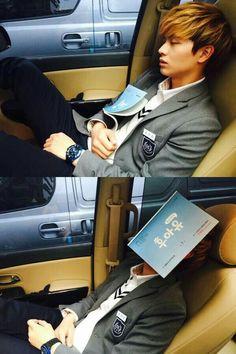 BTOB Sungjae ~ in the past, present and future, I love you forever (예지앞사) Sungjae And Joy, Sungjae Btob, Im Hyunsik, Minhyuk, Cnblue, Asian Actors, Korean Actors, Got7, Who Are You School 2015