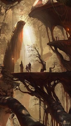 Gorgeous fantasy artwork by Donovan Valdes. | Cinema Gorgeous