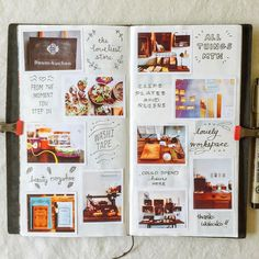 Seaweed Kisses: The Journal Diaries- Gert's Hobonichi