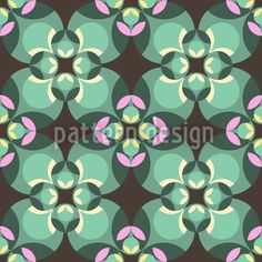 Esmeralda Green by Andreas Loher available for download on patterndesigns.com