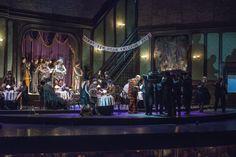 într-o joi, 4 mai la Opera Națională București Giuseppe Verdi: Rigoletto Regia: Stephen Barlow; Stage Design, Set Design, Theater, Scenic Design, Bucharest, Conductors, Verona, Lighting Design, Scenery