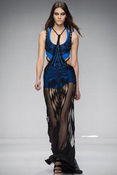 Versace Couture Spring 2016 Model: Greta Varlese
