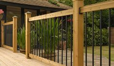 Do you assume Deck Railing Kits Canada seems to be great? Browse everything about Deck Railing Kits Canada right here. You may discovered another Deck Railing Kits Canada better design ideas Horizontal Deck Railing, Deck Railing Kits, Metal Deck Railing, Garden Railings, Deck Railing Design, Patio Railing, Patio Fence, Wood Patio, Deck Design