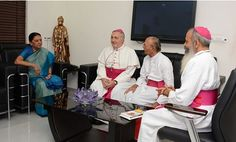 Gujarat Chief Minister Anandiben Patel on Friday meets Archbishop designate of Gandhinagar Reverend Thomas Macwan and former Archbishop Stanislaus Fernandes. The official account of Gujarat Chief Minister Anandiben Patel took on Twitter. Also met Archbishop designate of Gandhinagar Reverend Thomas Macwan & former Archbishop Stanislaus Fernandes Also met Archbishop designate of Gandhinagar Reverend Thomas Macwan & former Archbishop...  Read More