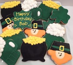 St Patrick's Day/Birthday cookie