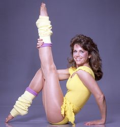 Work Out Like Your Mom: Jane Fonda Rereleases Aerobics Videos 1980s Aerobics, Aerobics Videos, Jane Seymour, 80s Workout Clothes, Jane Fonda Workout, Long Sleeve Leotard, New Wave, Bodysuit Fashion, Fitness