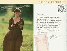Pride and Prejudice 2005  - online companion -Joe Wright - Lizzie Bennet - Elizabeth Bennet - Keira Knightley - Page 1