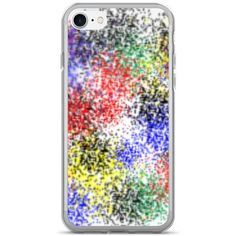 Alina Paint Splatter iPhone 7/7 Plus Case Atelier Briella ($20) ❤ liked on Polyvore featuring accessories, tech accessories, phone cases, iphone cases, apple iphone case and iphone cover case