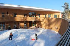 Roosaliina kirdergarten (Espoo, Finland). Cities In Finland, Alternative Education, Helsinki, Buildings, Architecture, City, Outdoor Decor, Schools, Arquitetura