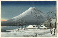 Fuji from Lake Yamanaka - Shotei Takahashi