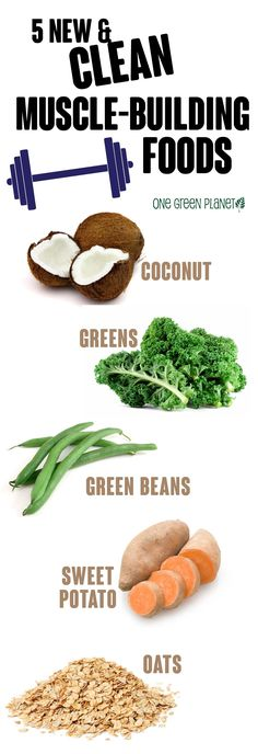 Natural plant based diet: muscle-building foods #bodybuildingdiet