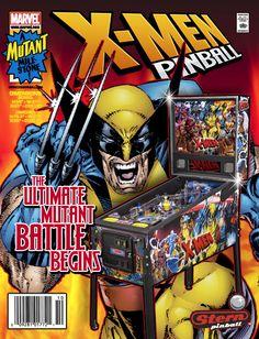 STERN X-Men Pinball Comic Book Cover