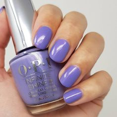 """Sara su Instagram: """"PR// New from the @opi 'Muse of Milan' fall collection 2020 {Galleria Vittorio Violet}, a violet purple with subtle shimmer💜🍁 One of my…"""" Fall Collections, Opi, Milan, Muse, Nail Polish, Purple, Nails, Beauty, Instagram"""