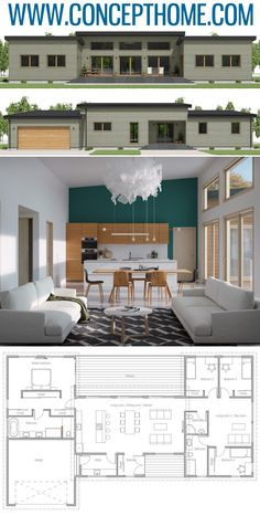 Tiny House Plans 486740672226264346 - Small House Plan, Small Home Plan, Small House Design Source by ammicheconstant Small Modern House Plans, Modern Floor Plans, Simple House Plans, Dream House Plans, Modern House Design, Small Home Plans, Small House Floor Plans, Modern Architecture House, Architecture Design