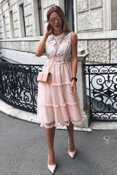 EMMA brzoskwiniowa sukienka Dresses, Fashion, Vestidos, Moda, Fashion Styles, Dress, Fashion Illustrations, Gown, Outfits