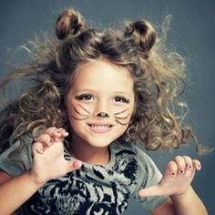 Kid #Halloween Kitty Makeover | | http://happyhalloweenday.blogspot.com
