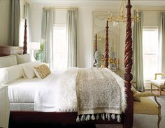 Frog Hill Designs: The Four Poster Bed.