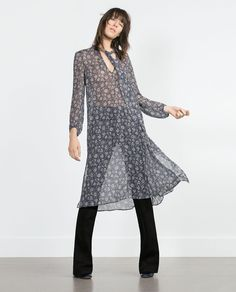 LONG TUNIC-View all-Dresses-WOMAN | ZARA United States