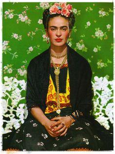 Frida Kahlo #art #patterns #colour #Frida #Kahlo