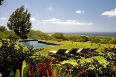 Yoshis House pool at Puakea Ranch Hawaii